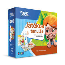 Tolki Interaktív foglalkoztató könyv tollal készletben - Játékos tanulás