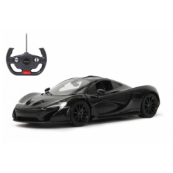 Deluxe távírányítós kisautó - McLaren P1 1:14, fekete 405093 Jamara