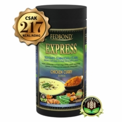 FEDBOND ® EXPRESS CSIRKE-CURRY ízű diétás borsófehérje alapú krémleves