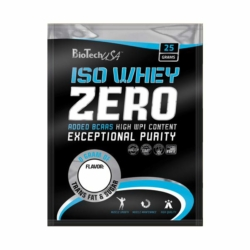 BioTech USA 100% IsoWhey ZERO Lactose Free protein, vanília – 10x25g