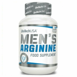 BioTech USA Men's Arginine kapszula – 90db