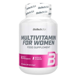 BioTech USA Multivitamin for Women tabletta – 60 db