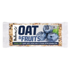 BioTech USA Oat & Fruit áfonya szelet – 70g   1db