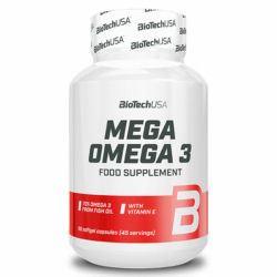 BioTech USA Omega 3 gélkapszula – 90db