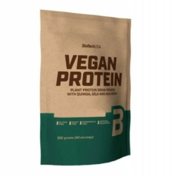 BioTech USA Vegan Protein, mogyoró – 500g