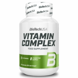 BioTech USA Vitamin Complex tabletta – 60 db