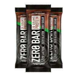 BioTech USA Zero Bar protein szelet csokoládé – mogyoró – 50g  1db