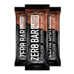 BioTech USA Zero Bar protein szelet dupla csokoládé – 50g   1db