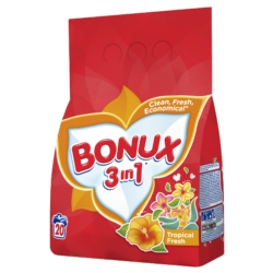 Bonux 3in1 Trópusi Frissesség Mosópor 1.5 kg