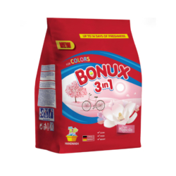 Bonux mosópor zacskós kézi 7 mosás 400 g 3in1 Magnolia Colors