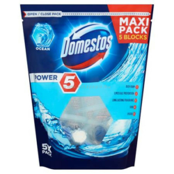 Domestos wc illatosító 5x55 g Power 5 Ocean