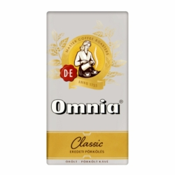 Douwe Egberts Omnia Classic eredeti pörkölésű őrölt pörkölt kávé 250 g