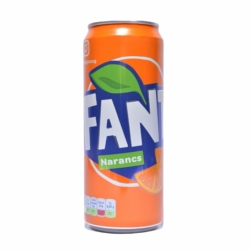 Fanta Narancs szénsavas üdítőital 330 ml