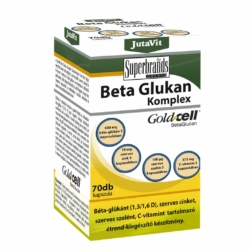 Jutavit Béta Glukan (Béta-Glükán) komplex kapszula – 70db