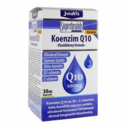 Jutavit Koenzim Q10 100mg vízoldékony kapszula – 30db