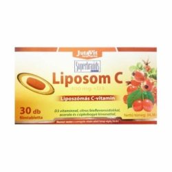 Jutavit Liposom liposzómás C+D C-vitamin 400mg + D3-vitamin 400NE tabletta – 30db