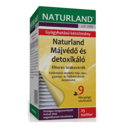 Naturland májvédő tea – 25 filter/doboz