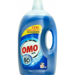 Omo folyékony mosószer 100 mosás 5 l White