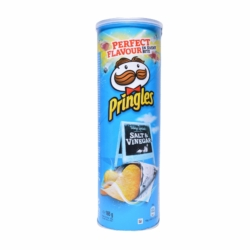 Pringles Só és Ecet ízesítésű snack 165 g