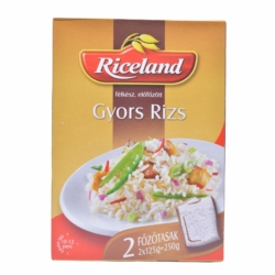 Riceland gyors rizs 2X125 g