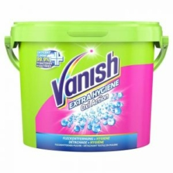 Vanish folttisztító por 2,1 kg Oxi Action Pink Extra Hygiene