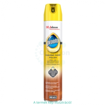 Pronto bútorápoló spray 400 ml Wood classic