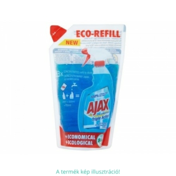 Ajax ut. 250 ml ablaktisztító Triple Action