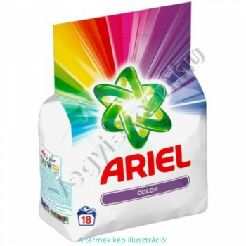 Ariel mosópor zacskós 18 mosás 1,35 kg Compact Color
