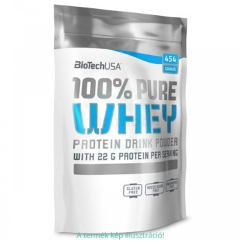 BioTech USA Pure Whey protein, banán – 454g