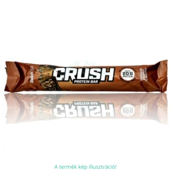 BioTech USA Crush Bar csokoládé-brownie szelet – 64g