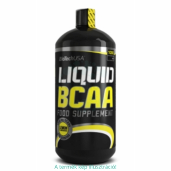 BioTech USA Liquid BCAA citrom ital – 1000 ml