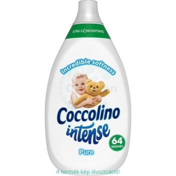 Coccolino Öblítő szuper koncentrált Intense pure 64 mosás 960 ml