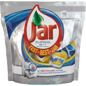 Jar mosogató kapszula 10 mosás 10 db Platinum Lemon